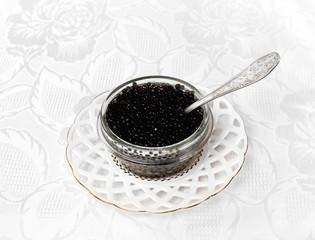 Beluga black caviar