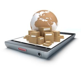 Worldwide delivery app