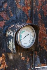 Viejo Termómetro Industrial