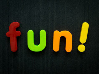 Fun for kids concept