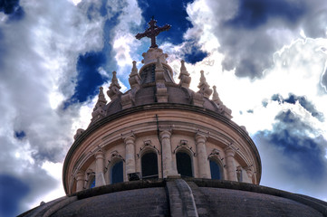 Church top, Xewkija, Gozo, Malta