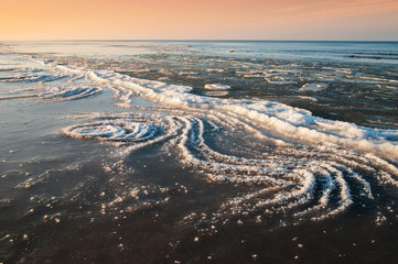 freezing sea