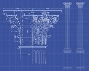 columna corintia