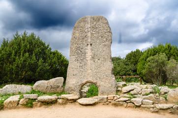 Sardegna, Tomba dei Giganti di Li Mizzani, Palau (OT)