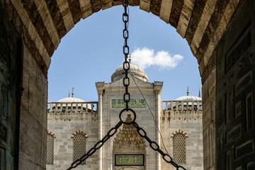 ingresso moschea blu