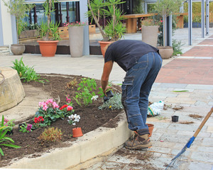 Jardinier municipale