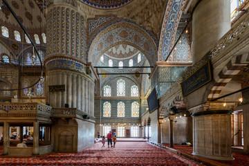 Moschea blu interno