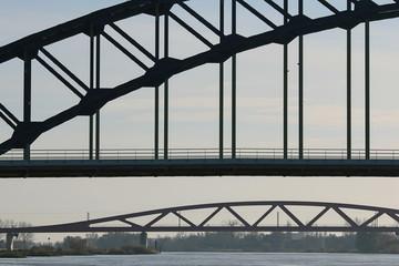 Bridges infrastructure with train