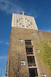 canvas print picture - Kirchengebäude im Umbau