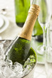 Alcoholic Bubbly Champagne for New Years - 74156919
