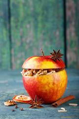 Bratapfel - Apfel mit Füllung