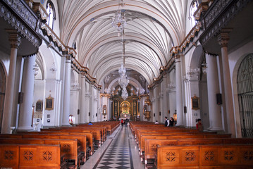 Catedral de Lima, interior