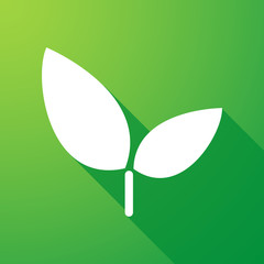 plant long shadow icon