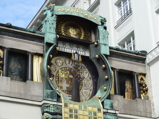 Horloge, Vienne, Autriche