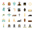 Funeral icons - 74159193