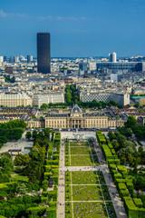 Paris landscape - champ de mars