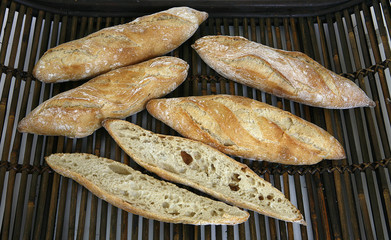 breads baked in the traditional way