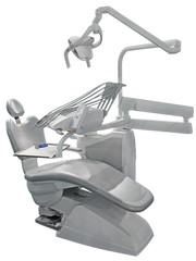 Gray Dental Chair