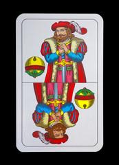 Spielkarten - Schnapskarten  SchellenOber - Itell Reding