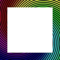 Rainbow matting