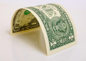 One dollar.