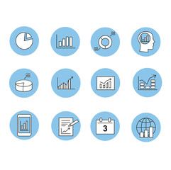 Business Infographic icons -  Graphics