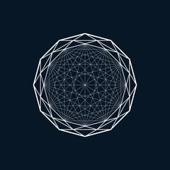 Geometric element, line design, diamond pattern
