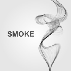 Vector abstract smoke background