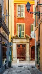 Le vieux Nice, France.