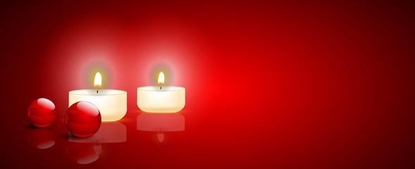 candeline, addobbi di natale, natale