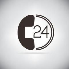 call service symbol