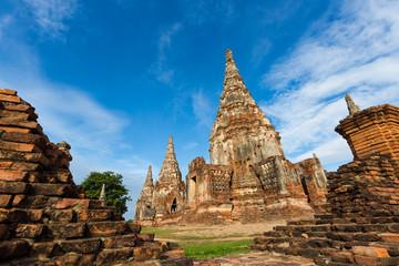 Wat Chaiwatthanaram in Ayutthaya ,Thailand.