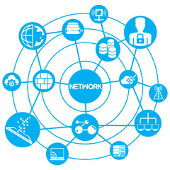 internet and network concept