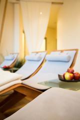 Cozy room in wellness center