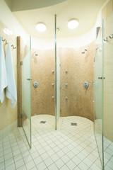 Shower in beauty center