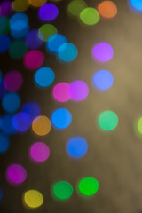 Beautiful colorful background with bokeh.