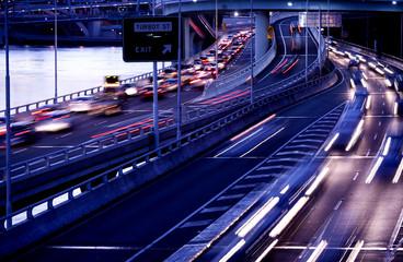Brisbane city traffic