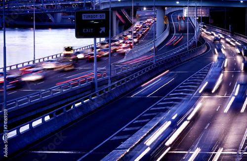Brisbane city traffic - 74169319