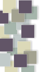 abstract retro background with squares
