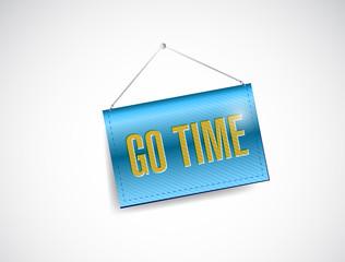 go time post banner illustration design