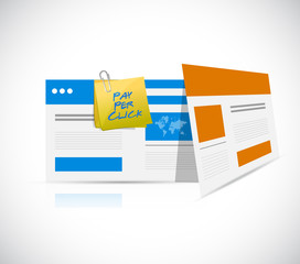 pay per click browser template