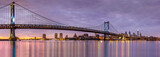 Ben Franklin bridge and Philadelphia skyline - 74169946