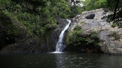 7 Kot waterfall (beautiful small waterfall in Saraburi Province,
