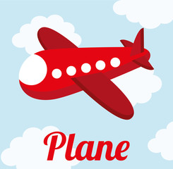 plane cute design