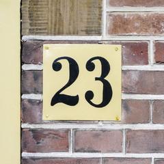 Number 23