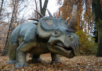 Styracosaurus (Styracosaurus albertensis).