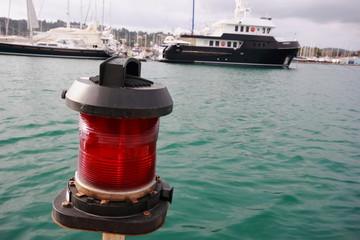Red Port Side Light