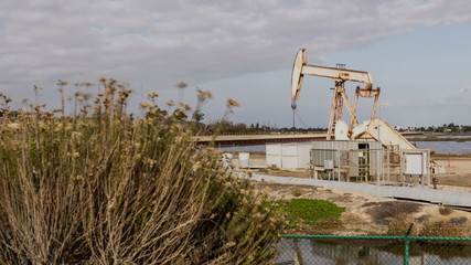 Pumpjack Oil Well Time Lapse Video