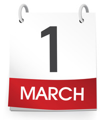 Vector of the First of March
