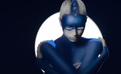 Blue body